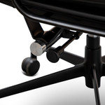 Forbes Soft Pad Executive Office Chair - Eames Replica - Full Black