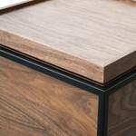 Orva Scandinavian Side Table - Walnut