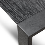 Keith Extendable MDF Dining Table - Black
