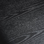 Torquay Narrow Wood Console Table - Full Black