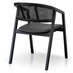 Esperance Byrock Wooden Dining Chair - Black