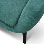 Lilydale Armchair - Green Fabric