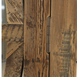 Kylie Armoire natural reclaimed timber