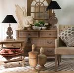 Jamie Polo Side Table/Bedside Oak Wash