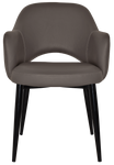 Albury Metal Leg Arm Chair