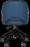 Albury Castor Black Arm Chair