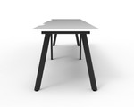 Fluid 2 Person Single Sided  Workstation