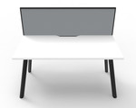 Fluid 1 Person Single Sided Workstation With Screen