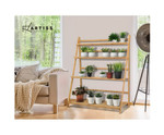 Annangrove Bamboo Foldable Shelf Plant