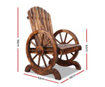 Arcadia Wooden Wagon Outdoor Chair
