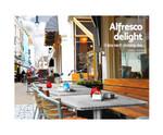 Ashbury Adjustable Pub Cafe Bar Table