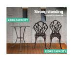 Barangaroo Aluminium Table Chair Patio