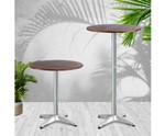 Berala Aluminium Round Cafe Table