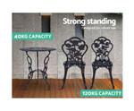 Berowra Aluminium Table Chair Patio