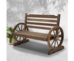 Birchgrove Park Bench Wooden Wagon