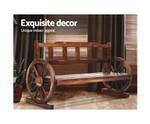 Blairmount Wooden Bench Wagon