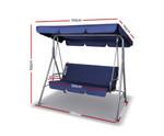 Blakehurst Navy Canopy Swing Chair