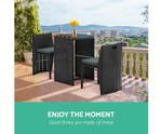 Burraneer 3 Piece Table and Chair Set