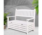 Airds Bench Box Wooden Garden Chair