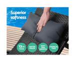 Cabramatta Sun Lounge Pillow Sofa Set