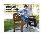 Carlton Bench Patio Timber Lounge Chair