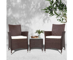 Cartwright 3 Piece Outdoor Furniture Set