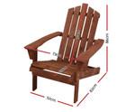Casula Wooden Sun Lounge Beach Chair