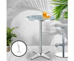 Clarice Round Aluminium Dining Table