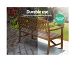 Cheltenham Wooden Bench Patio Lounge