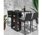 Cherrybrook Outdoor Bar Set Table Stools
