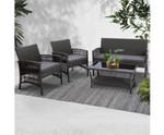 Chullora Furniture Set Wicker Cushion