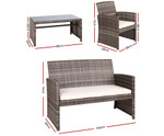 Clarendon Outdoor Wicker Chairs & Table