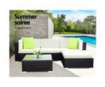 Clyde Sofa Set Patio Pool Lounge
