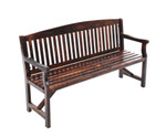Concord Wooden Bench Chair 3 Seater