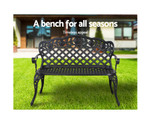 Croydon Aluminium Bench Patio Lounge