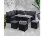 Daceyville Dining Sofa Set Lounge