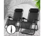 Davidson Set of 2 Chairs Sun Lounge