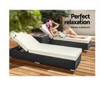 Haberfield Sun Lounge Bed Chair Sofa