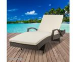 Hurstville Grey Outdoor Sun Lounge