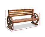 Ingleburn Bench Wooden Wagon Chair