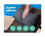 Kareela Sun Lounge Bed Pillow Sofa Set