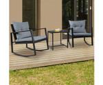 Kingsgrove Outdoor Chair Rocking Set