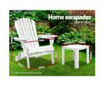 Kurmond  Adirondack Beach Chair & Table