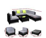 Kurnell Sofa Set Lounge Setting Couches