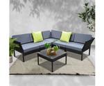 Laughtondale Sofa Set Lounge Setting