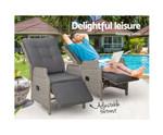 Longueville 2 Recliner Chairs Sun Lounge