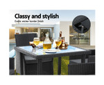 Marayong  5PC Dining Patio Chairs Table