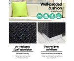 Marrickville 9PC Sofa Set & Storage Cover