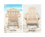 Monterey Wooden Set of 2 Patio Chairs