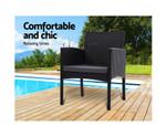 Eastgardens Bistro Chairs Garden Cushion
